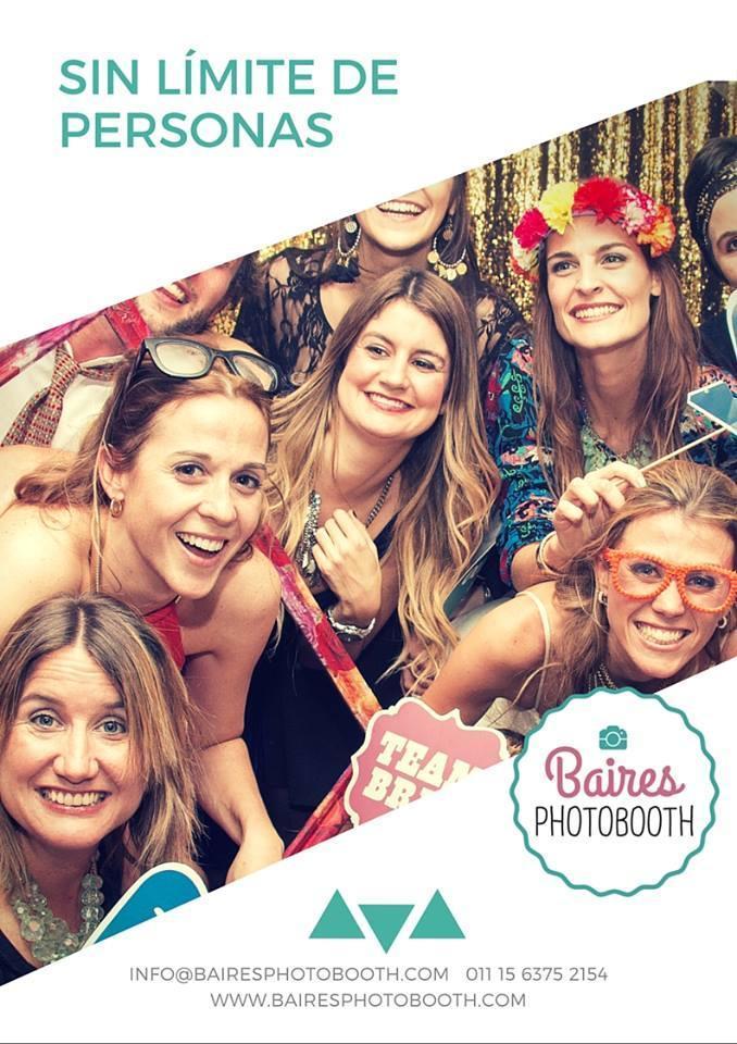 Baires Photobooth (Cabinas de mensajes, fotos y video)