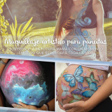 Maquillaje artistico - Belly painting