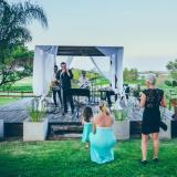Ambientando el espectacular casamiento de Dorys y Fran , los novios quedaron muy contentos y nosotros tambien!!!!