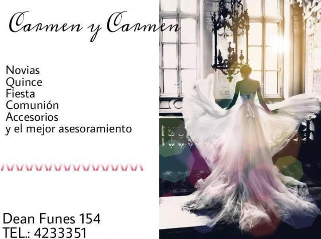 Los mejores vestidos de fiesta están en Carmen y Carmen!!!!