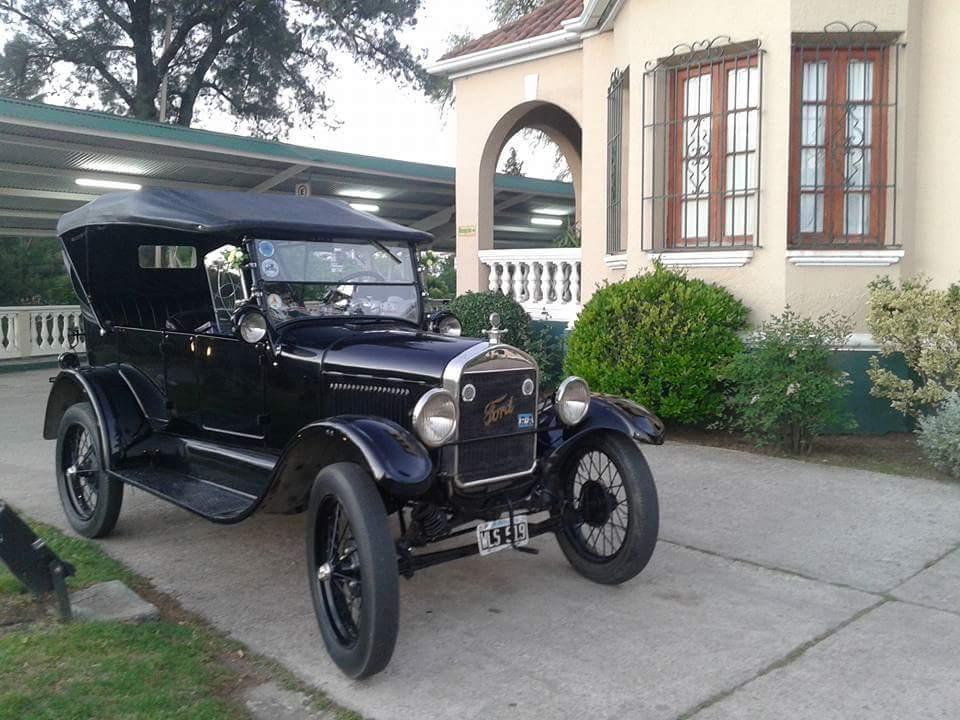 Ford T 1927 descapotable