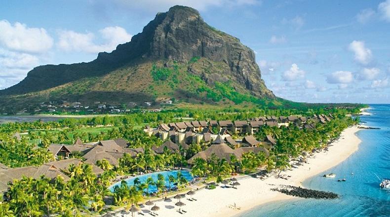 Isla Mauricio para la Luna de miel