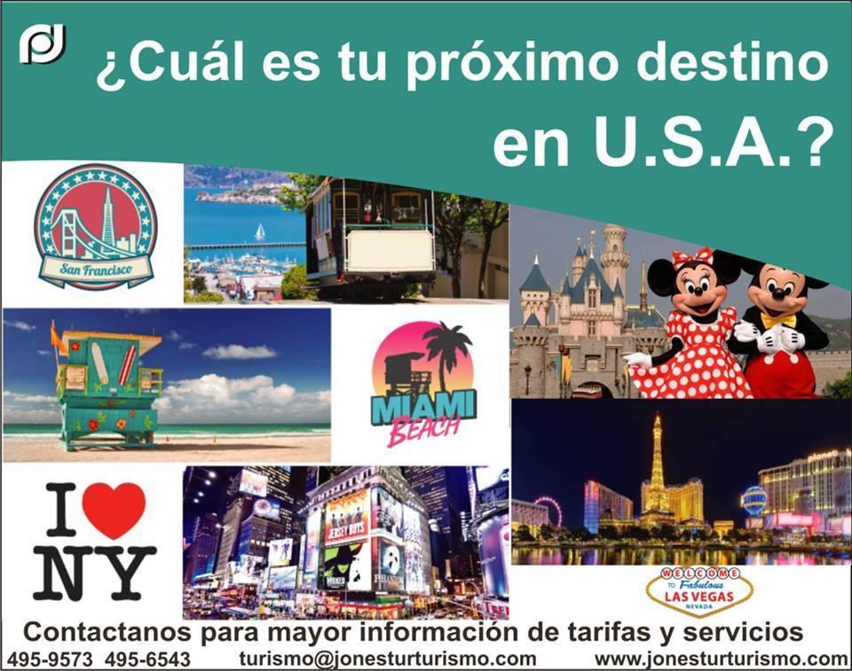 Jonestur Turismo (Agencias de Viaje)