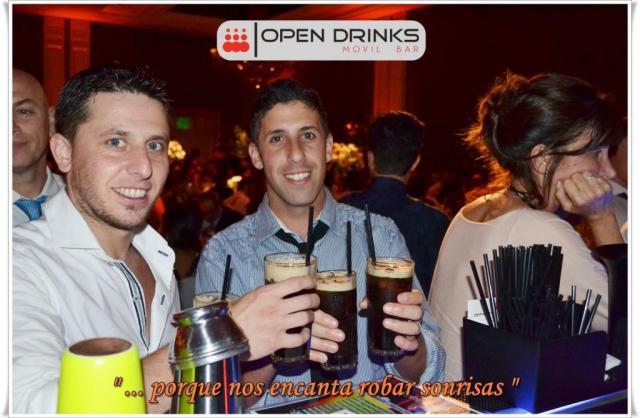Open Drinks Movil Bar (Bebidas y Barras de Tragos) | Casamientos Online