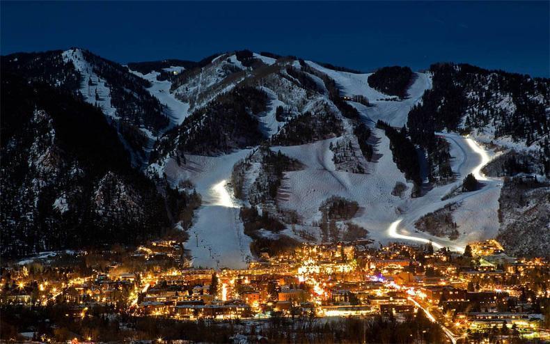 Ski trip para la luna de miel en Aspen