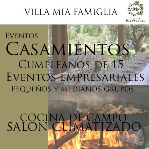 Todo, en un solo lugar... Villa Mia Famiglia...