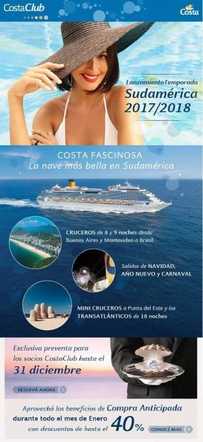 Costa Cruceros -2017 2018 - Zanzibar viajes y turismo