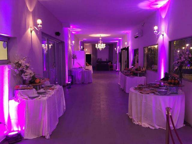 AMBIENTACION LED | Casamientos Online