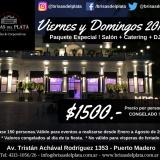 VIERNES Y DOMINGOS 2018