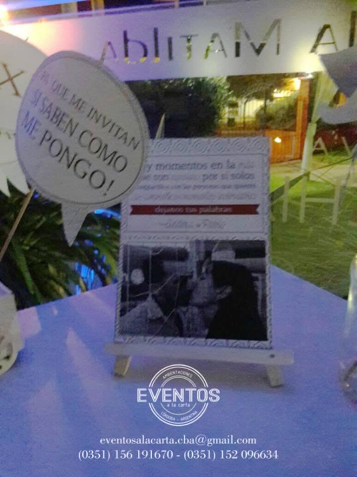 Eventos a la carta - Productos