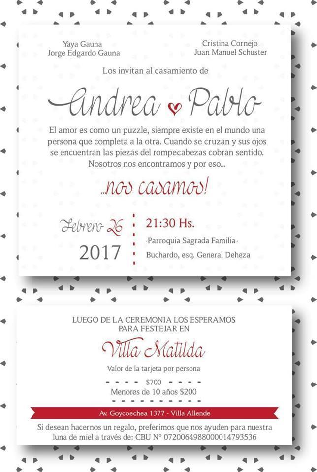 Eventos a la carta (Participaciones)