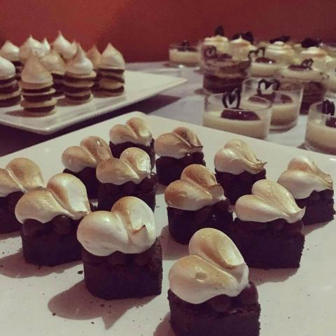 Mini Brownies | Casamientos Online