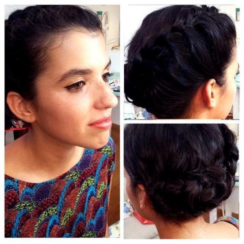 makeup y peinado invitada al casamiento | Casamientos Online