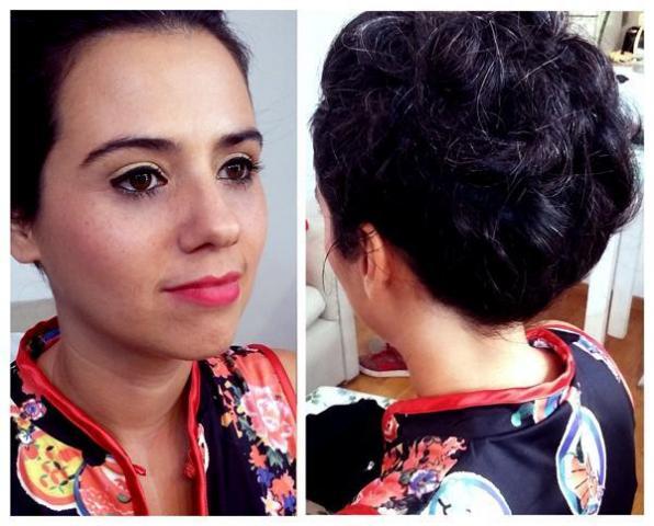 makeup y peinado invitada alcasamiento | Casamientos Online