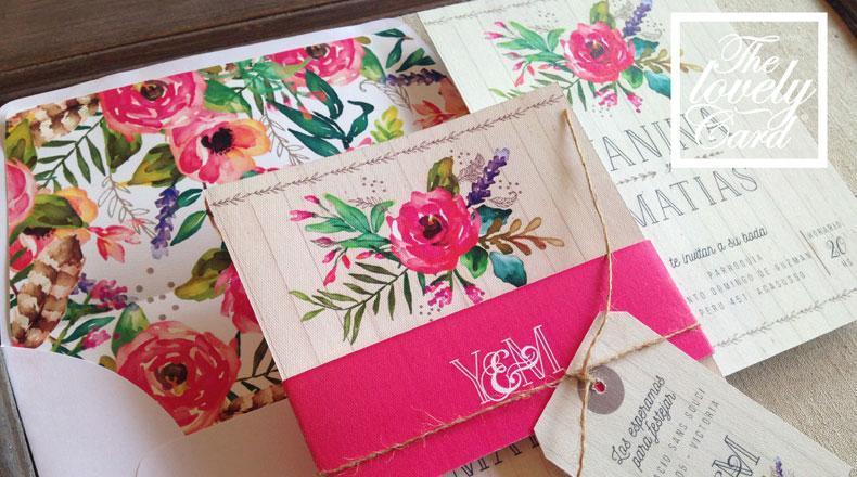participaciones y tarjetas de casamiento