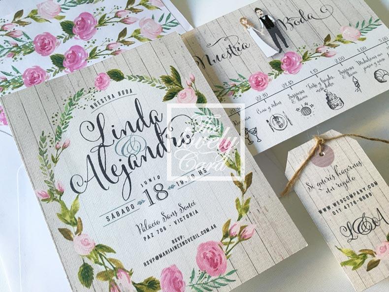 tarjeta de casamiento, ideas y consejos para elegirlas