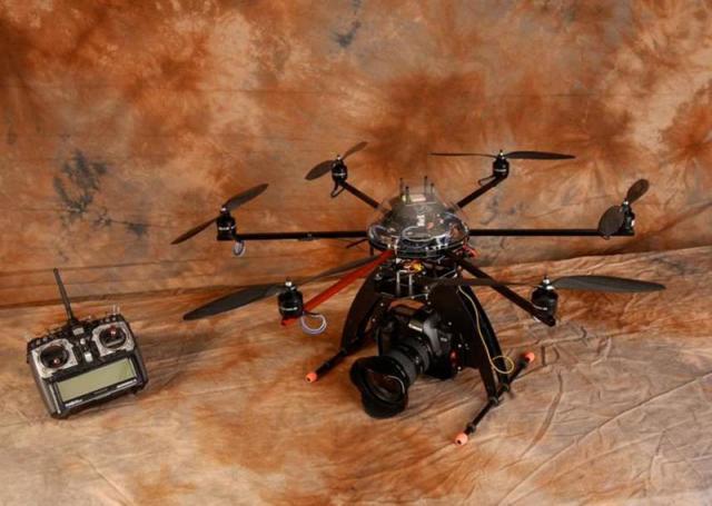 Cámara aérea - Drone