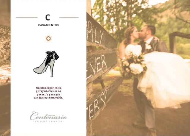 Casamientos - Centenario Catering