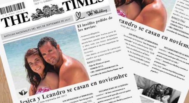 Estilo Newspaper | Casamientos Online