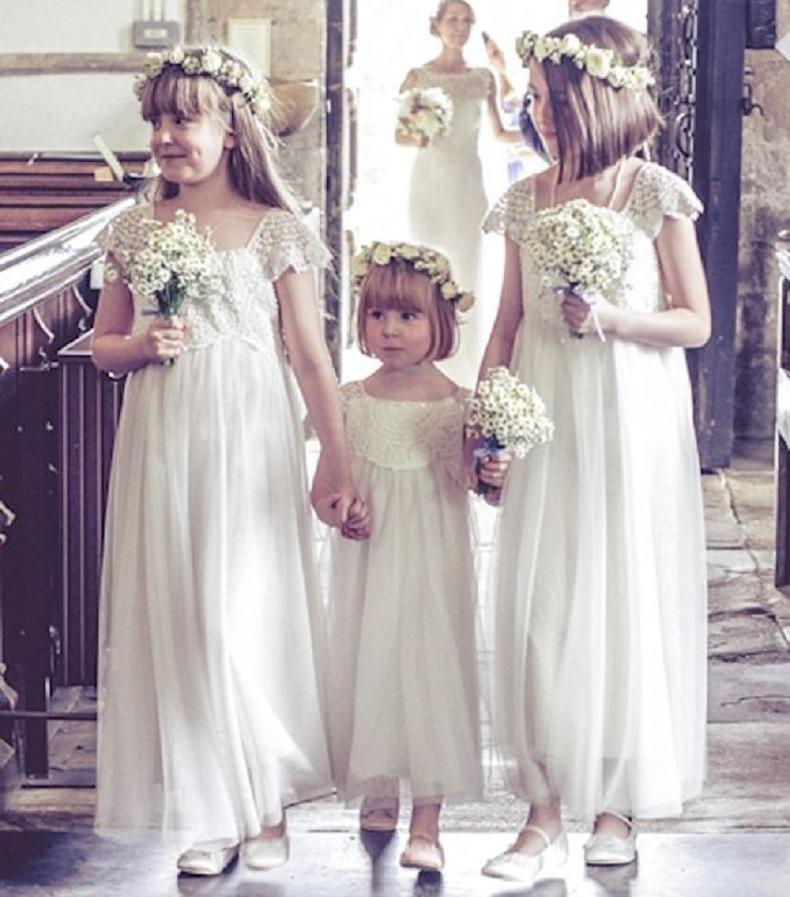 Como vestir a las niñas en un casamiento