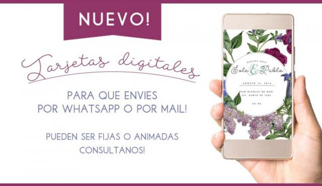 Tarjetas digitales