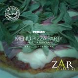 Civil con pizza party y salón incluido!!!