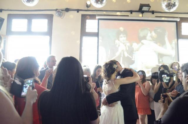 Entrada Novios con Pantalla Gigante | Casamientos Online
