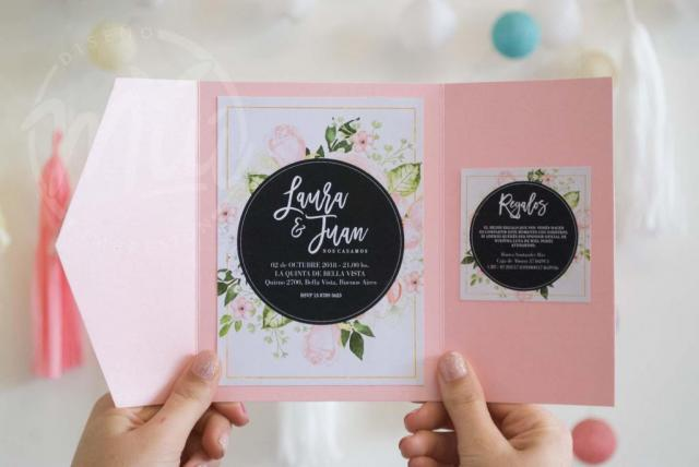Modelo Blush | Casamientos Online