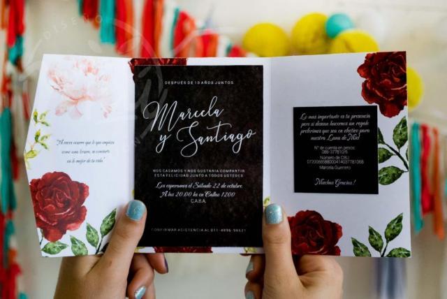 Modelo Jardin de Rosas | Casamientos Online