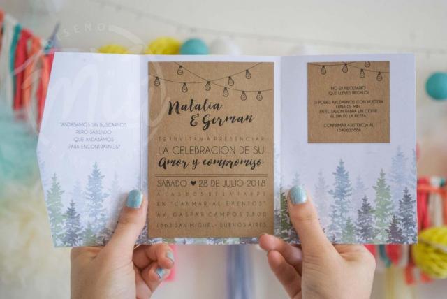 Modelo Forest | Casamientos Online