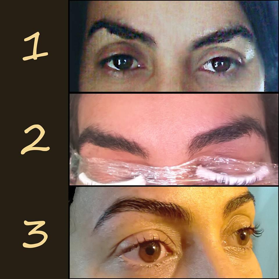 Patricia Carranza Make Up - Perfilado de cejas