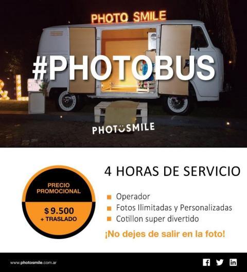 #PHOTOBUS - 4hs de servicio