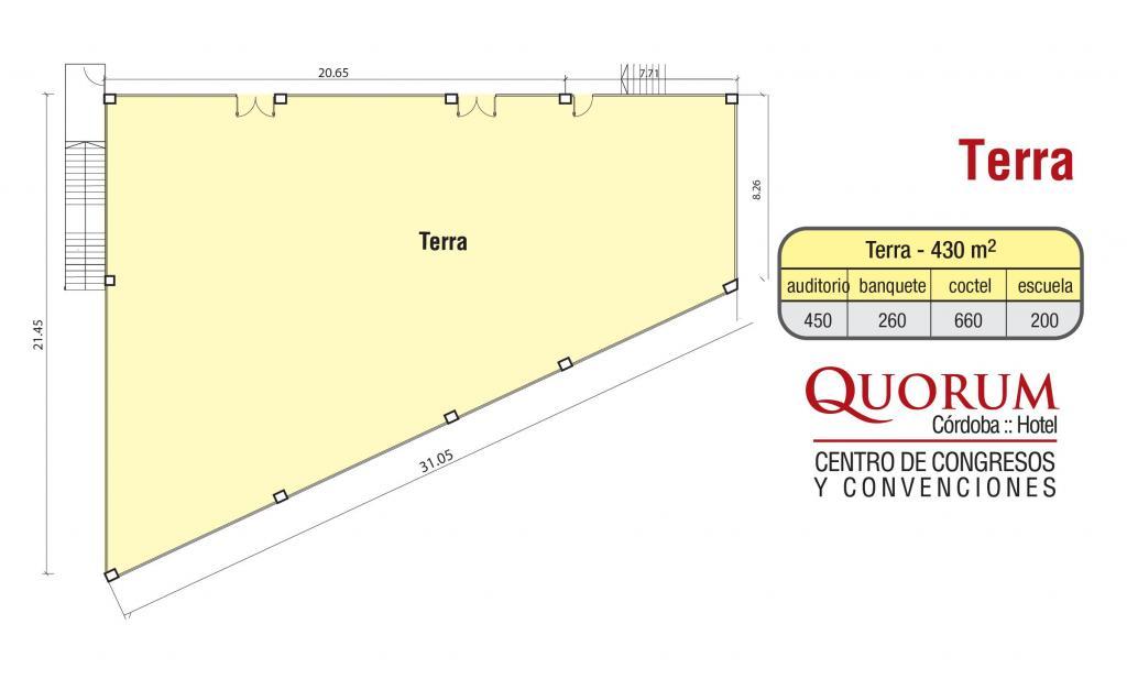 Quorum Hotel - Salón Terra