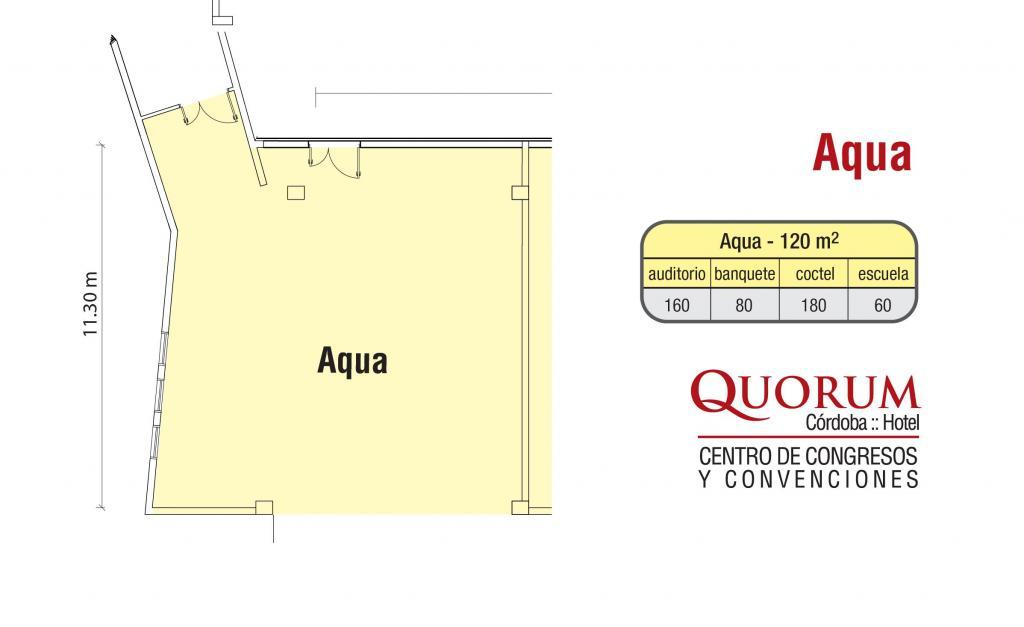 Quorum Hotel - Salón Aqua