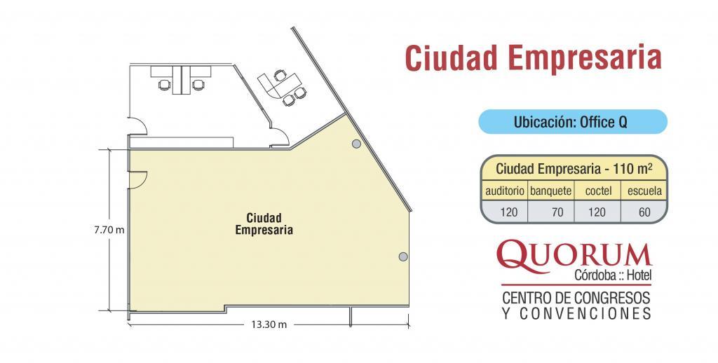 Quorum Hotel - Ciudad Empresaria