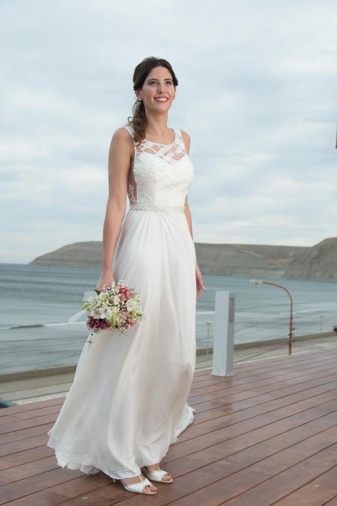 Vestido de novia de Jime