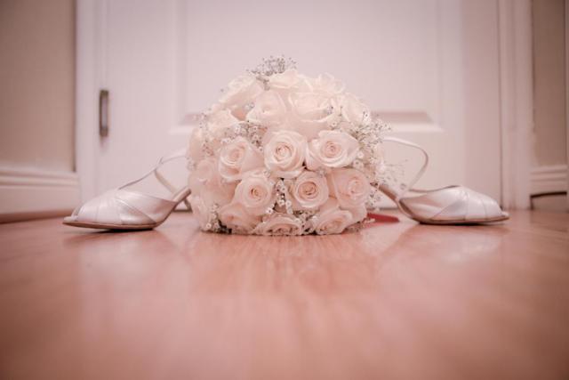 Yamila nos envió las fotos de sus zapatos.. | Casamientos Online
