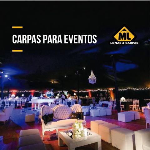 ML Eventos (Alquiler de Livings y Equipamientos)
