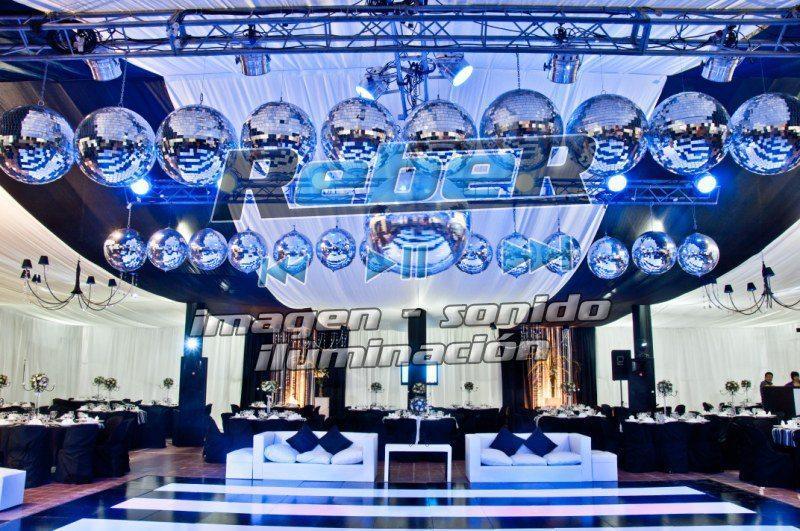 Sonido e iluminación - Reber Tecnología en eventos