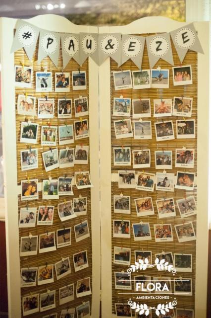 Biombo vintage | Casamientos Online