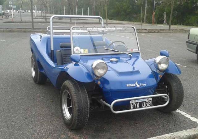 Buggy azul