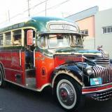 Colectivo año 1947, puede llevar 15 pasajeros