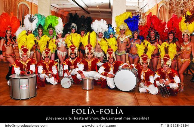 Comparsa Folía-Folía , Carnaval, Batucada, MegaShow