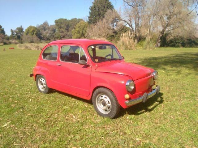 Fiat 600 varios colores