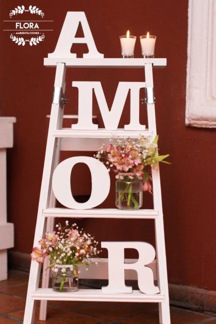 Escalera decorativa | Casamientos Online