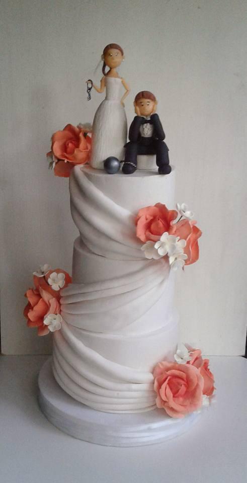 Tortas de bodas - Flora pastelería