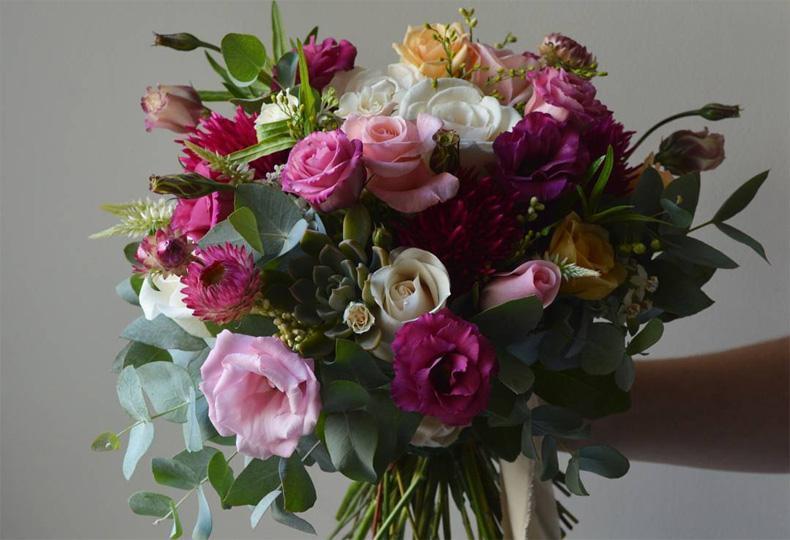 arreglos florales de bajas