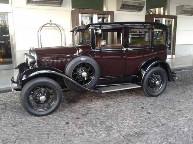 Ford A bordo techo duro | Casamientos Online