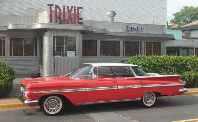 Impala 1959 rojo | Casamientos Online