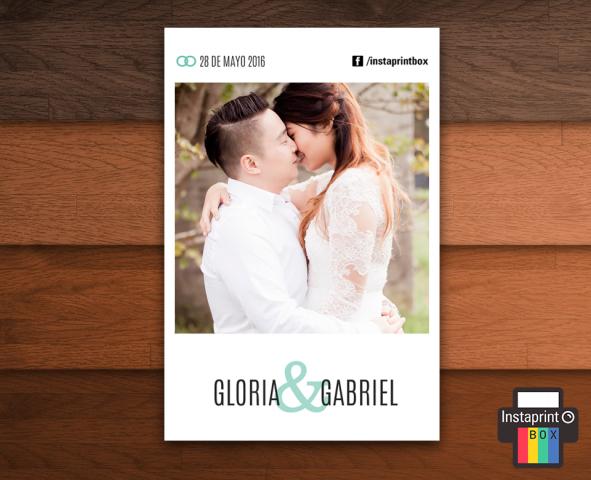 Instaprint Box | Casamientos Online